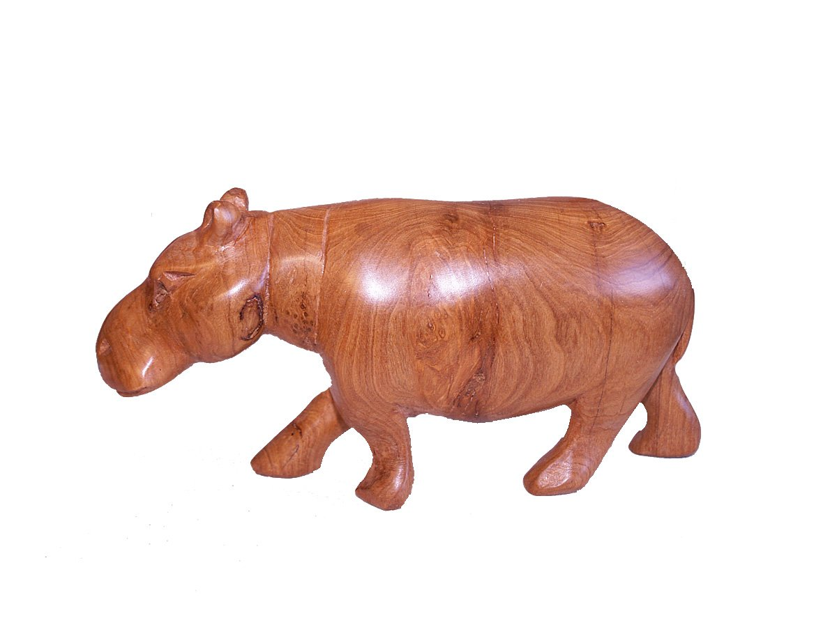 African wild animal carving handicrafts